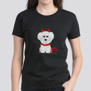 Bichon Frise Devil T-Shirt