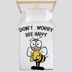 Don't Worry Bee Twin Duvet