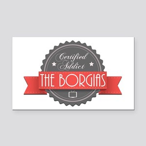 Certified The Borgias Addict Rectangle Car Magnet