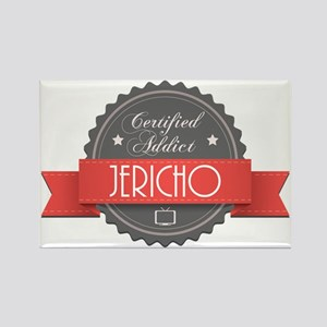 Certified Jericho Addict Rectangle Magnet