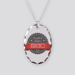 Certified Jericho Addict Necklace Oval Charm