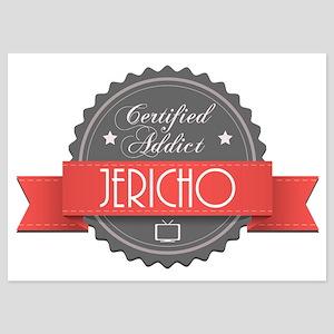 Certified Jericho Addict 5x7 Flat Cards