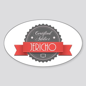 Certified Jericho Addict Oval Sticker