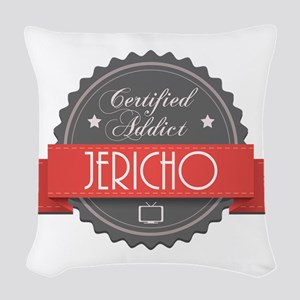 Certified Jericho Addict Woven Throw Pillow