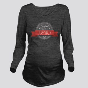 Certified Jericho Addict Long Sleeve Maternity T-S