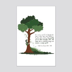 Tree Spirit Mini Poster Print