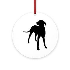 Standing Dog Custom Award Center Image