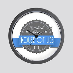 Certified House of Lies Addict Wall Clock