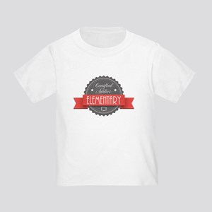 Certified Elementary Addict Infant/Toddler T-Shirt