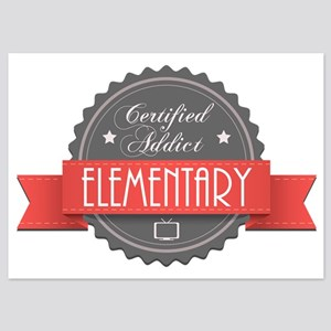 Certified Elementary Addict 5x7 Flat Cards