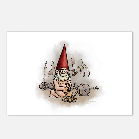 Niander Gnome Postcards (Package of 8)