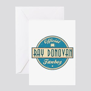 Offical Ray Donovan Fanboy Greeting Card