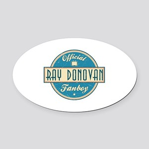 Offical Ray Donovan Fanboy Oval Car Magnet