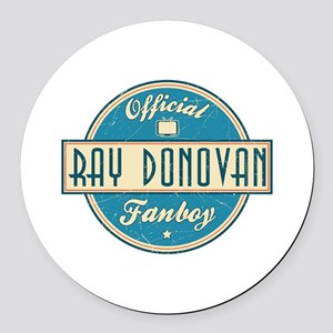 Offical Ray Donovan Fanboy Round Car Magnet