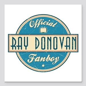 "Offical Ray Donovan Fanboy Square Car Magnet 3"" x"