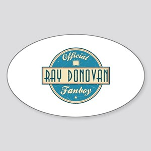 Offical Ray Donovan Fanboy Oval Sticker