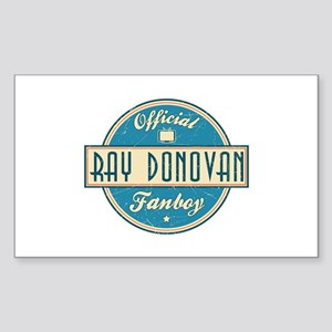 Offical Ray Donovan Fanboy Rectangle Sticker