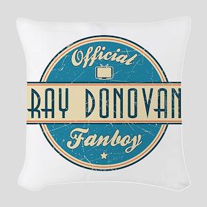 Offical Ray Donovan Fanboy Woven Throw Pillow