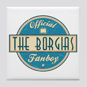 Offical The Borgias Fanboy Tile Coaster