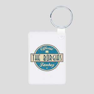 Offical The Borgias Fanboy Aluminum Photo Keychain