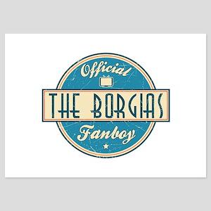 Offical The Borgias Fanboy 5x7 Flat Cards