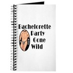 Bachelorette Party Gone Wild Journal