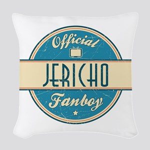 Offical Jericho Fanboy Woven Throw Pillow