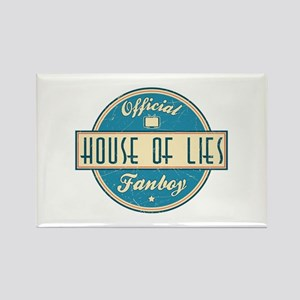 Offical House of Lies Fanboy Rectangle Magnet