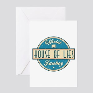 Offical House of Lies Fanboy Greeting Card