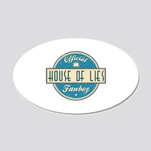 Offical House of Lies Fanboy 22x14 Oval Wall Peel