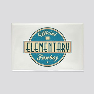 Offical Elementary Fanboy Rectangle Magnet