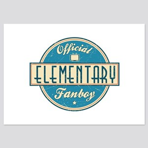 Offical Elementary Fanboy 5x7 Flat Cards