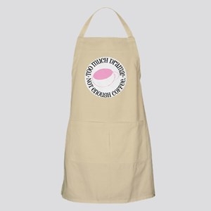 Too Much Drama! Not enough coffee Apron