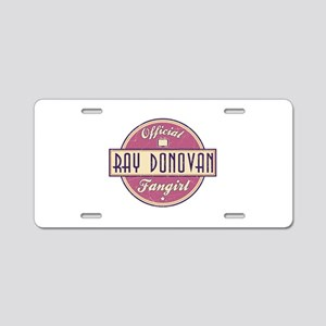 Offical Ray Donovan Fangirl Aluminum License Plate