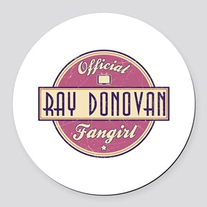 Offical Ray Donovan Fangirl Round Car Magnet
