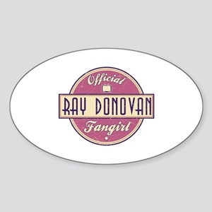 Offical Ray Donovan Fangirl Oval Sticker
