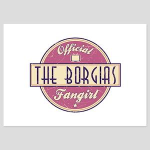 Offical The Borgias Fangirl 5x7 Flat Cards