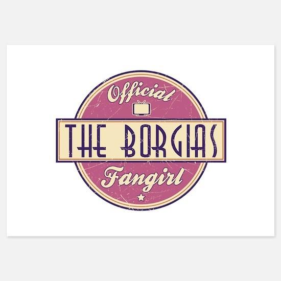 Offical The Borgias Fangirl Invitations