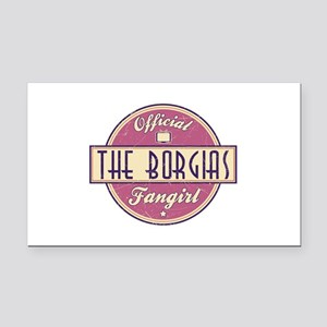 Offical The Borgias Fangirl Rectangle Car Magnet