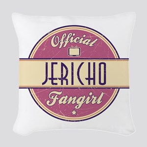 Offical Jericho Fangirl Woven Throw Pillow