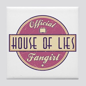 Offical House of Lies Fangirl Tile Coaster