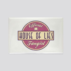 Offical House of Lies Fangirl Rectangle Magnet