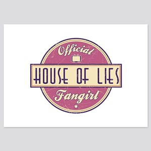 Offical House of Lies Fangirl 5x7 Flat Cards