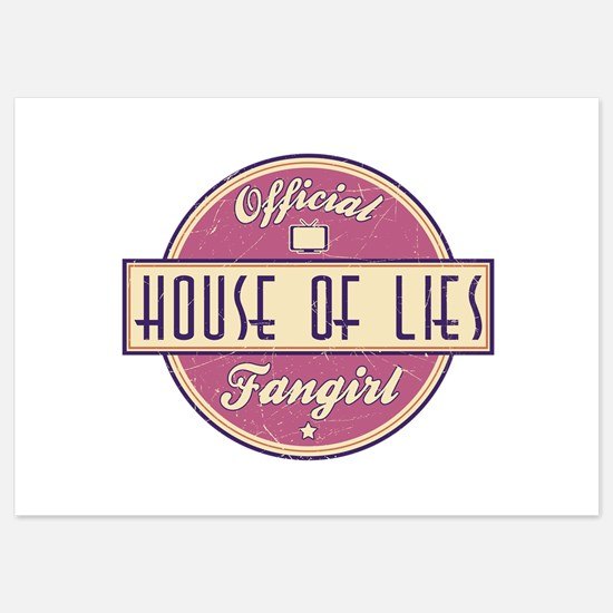 Offical House of Lies Fangirl Invitations