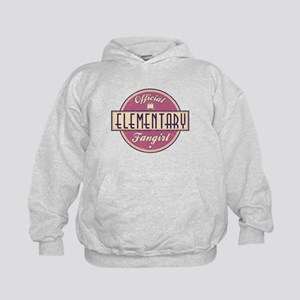 Offical Elementary Fangirl Kid's Hoodie