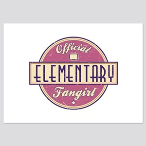 Offical Elementary Fangirl 5x7 Flat Cards