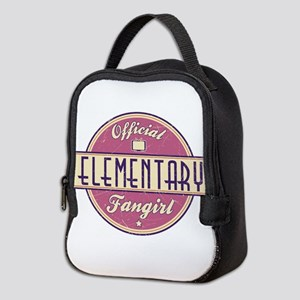 Offical Elementary Fangirl Neoprene Lunch Bag
