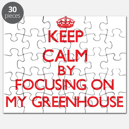 Keep Calm by focusing on My Greenhouse Puzzle