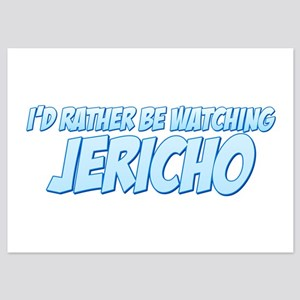 I'd Rather Be Watching Jericho 5x7 Flat Cards