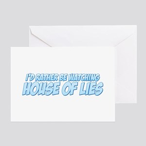 I'd Rather Be Watching House of Lies Greeting Card